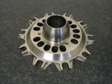Disc bell in titanium for formula one team